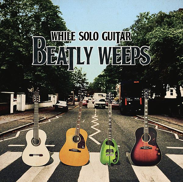While Solo Guitar Beatly Weepsジャケット
