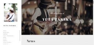 Yuta-homepage